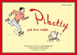 Piketty på tre röda av Esben S. Titland