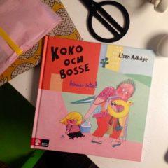 Koko och Bosse hinner inte! av Lisen Adbåge